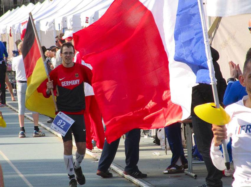Vitargo Sportler Florian Reus ist 24h-Lauf Weltmeister