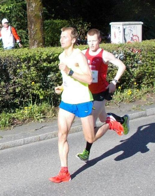 Jens Ziganke Vitargo Zürich Marathon 2015