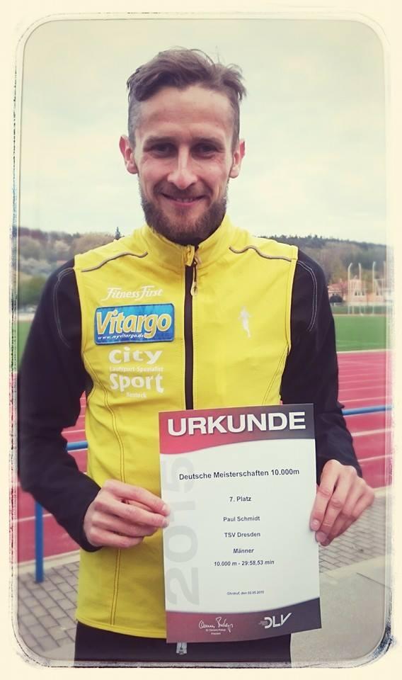 Paul Schmidt Vitargo Deutsche Mesiterschaften 10.000 m.