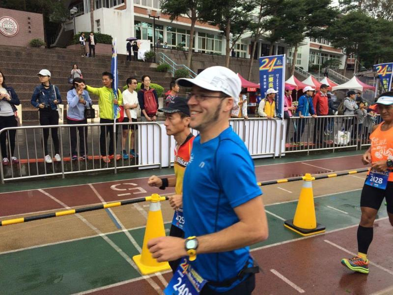 Florian Reus Ultramarthon Taipeh 24 Stunden Lauf