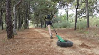Vitargo Sportler Toni im Trainingslager in Portugal