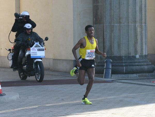 Marathon Weltrekord in sagenhaften 2:03:59 von Haile