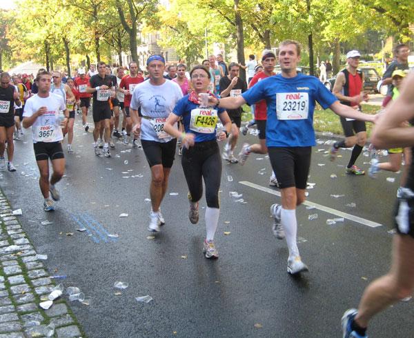 Ihr deht so gut aus - KM 30 beim Berlin Marathon