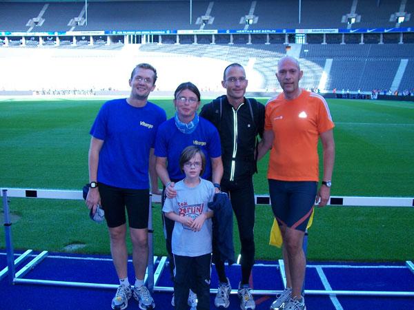 Berlin Marathon 2009 - Vitargo Team