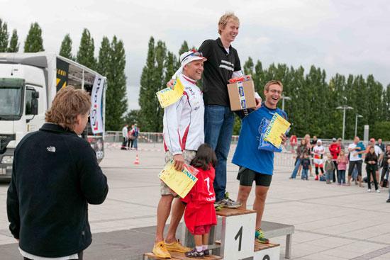 Siegerehrung Bremen Triathlon
