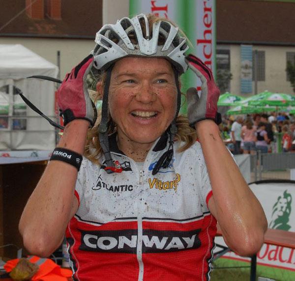 Doris Steenfatt beim Spessart Bike Marathon vom Conway Team