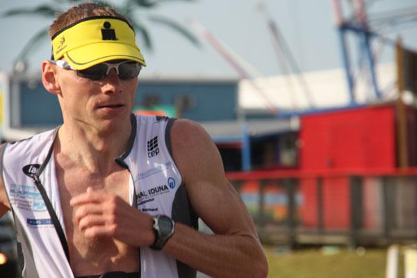 Jan Diekow erfolgreich mit Vitargo beim Ironman Florida 2009 - Glückwunsch zur Hawaii Qualifikation!