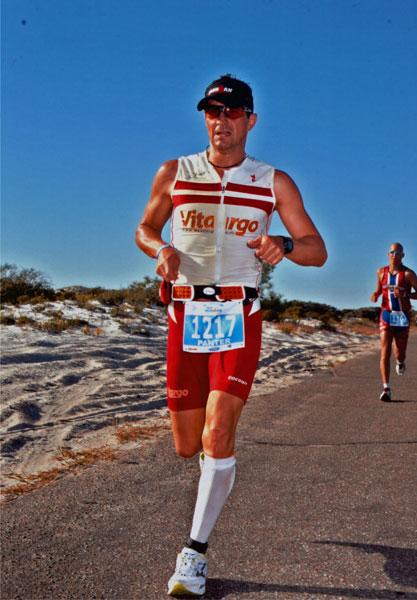 Ironman Jörg Panter erfolgreich auf der Laufstrecke beim Ironman Florida!