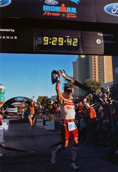 Ironman Jörg Panter im Ziel und erfolgreich für Hawaii 2009 qualifiziert!