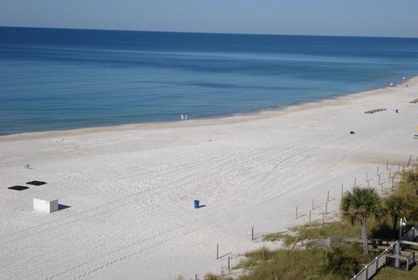 Flrodia Clearwater / Ironman Ausblick auf den Strand