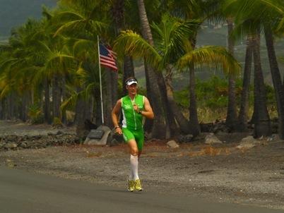 Rainer Lilischkes mit Vitargo nach Hawaii zum Ironman 2008 - Laufen