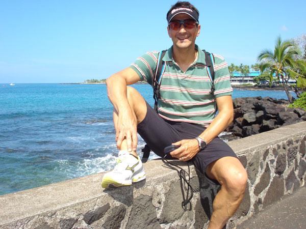 Hawaii - Ironmann 2009 - Ankunft Jörg Panter