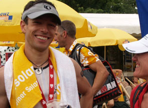 Michael Busse vom WSF Zweibrücken erfolgreich beim Ironman Zürich 2009