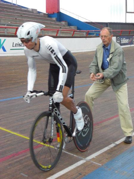 Tino Kässner erfolgreich bei den deutschen Bahnradmeisterschaften