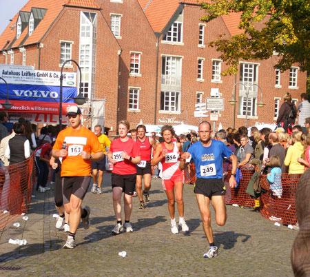 Holger Deifuß beim Münster Marathon 2009