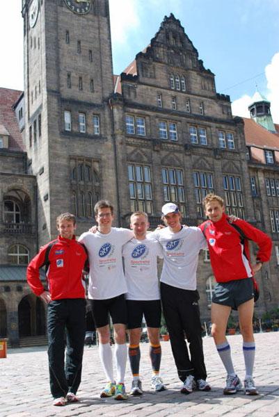 Marc Schulze bester Europäer und zweiter beim Chemnitzer Citylauf
