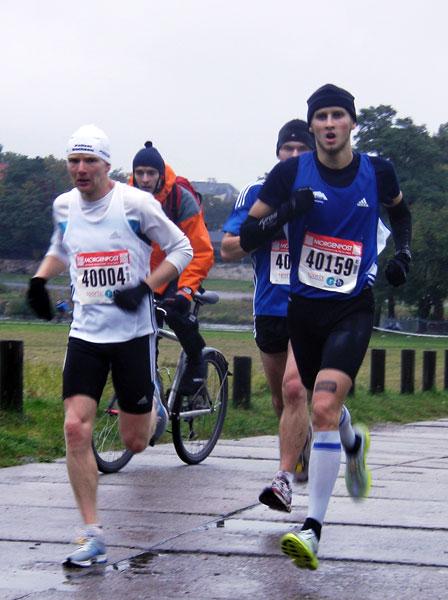 Paul Schmidt Sieger des Dresden Marathon 2009 - MIt Vitargo unterwegs!
