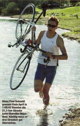 Paul Schmidt im Einsatz