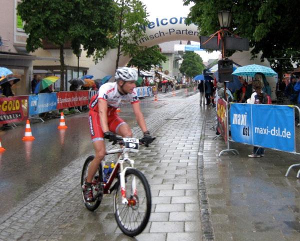 Björn Papst und Henrik Scharf erfolgreich bei den deutschen Meisterschaften MTB Marathon in Garmisch
