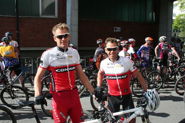Gelungener Saisonstart für Holger und Björn vom CONWAY Factory Team