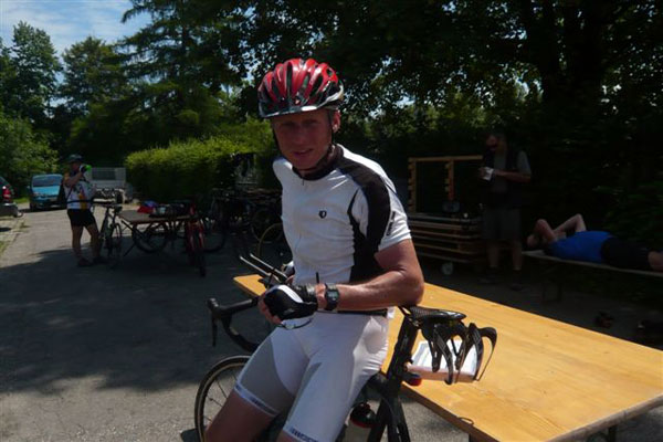 Start beim Schweizer Radmarathon Matthis Schöpfer Droop - 720KM insgesamt und  5600 Höhenmeter