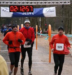 Martin Zang und Oliver Binz in Aktion beim Ultramarathon in Rodgau!