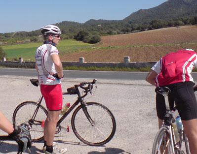 MyVitargo Sportler Hartmut und Patric im Triathlontrainingscamp auf Mallorca