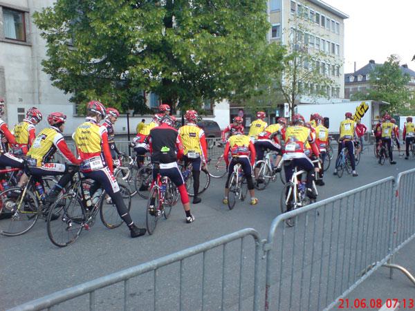Start Trondheim-Oslo Vitargo Team Germany