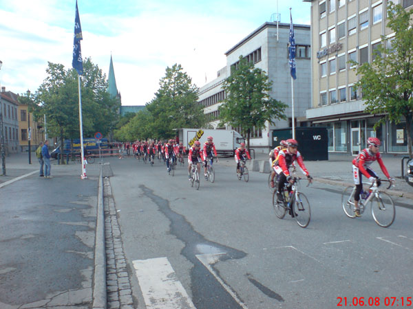 Vitargo Team Trondheim-Oslo Start