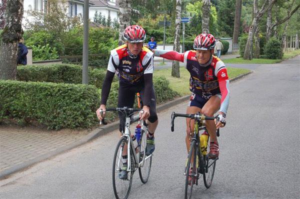 Strecke Trondheim-Oslo Vitargo Team Germany