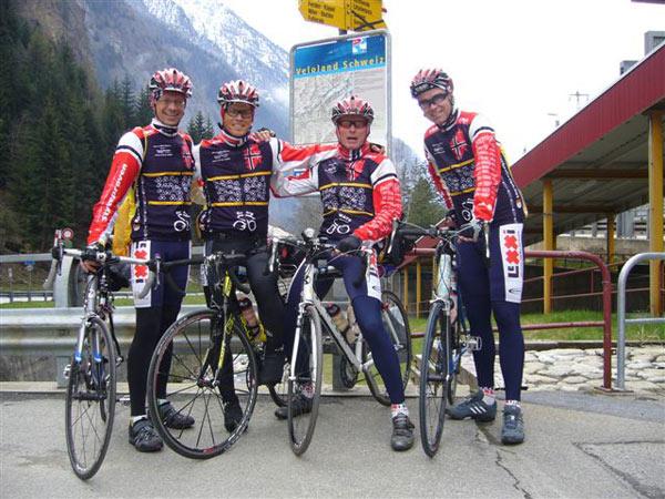 Start in der Schweiz - Vitargo Team Germany