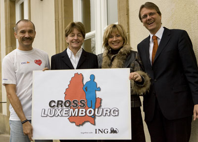 Thomas Wenning - Cross Luxemburg Laufen für den guten Zweck
