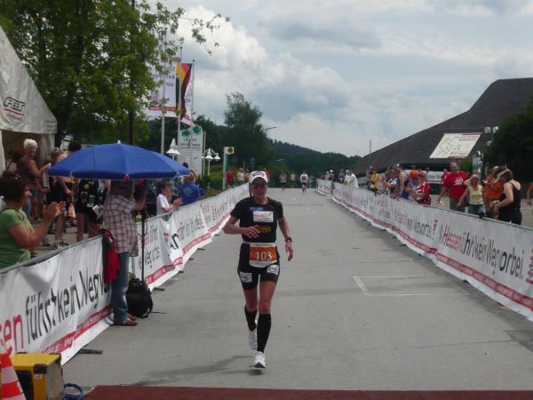 Claudia Weber erfolgreich in Willingen!
