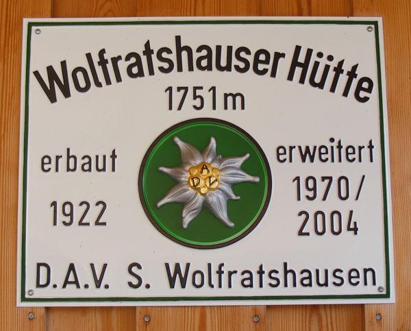 Wolfratshäuser Hütte