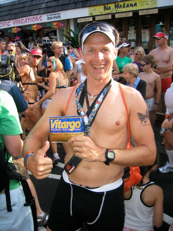 Rainer beim Underwear run