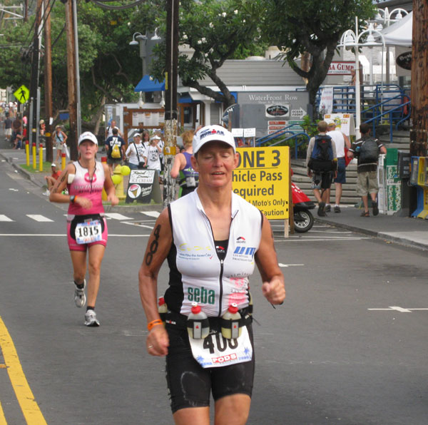 Monika Wille im Energy Lab - Ironman Hawaii 2009