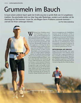 Grummeln im Bauch - Artikel Triathlon PDF-Download