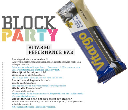 Trail Magazin Ausgabe 5 - Block Party Energieriegel im Test!